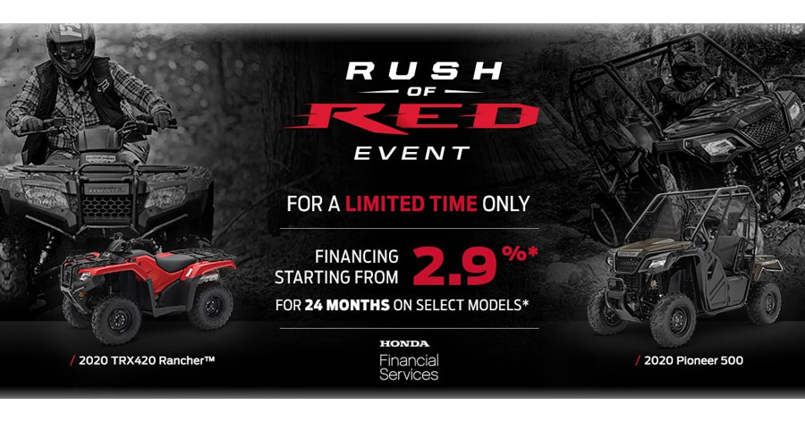 Rush of Red Event by Home Ottawa Perth