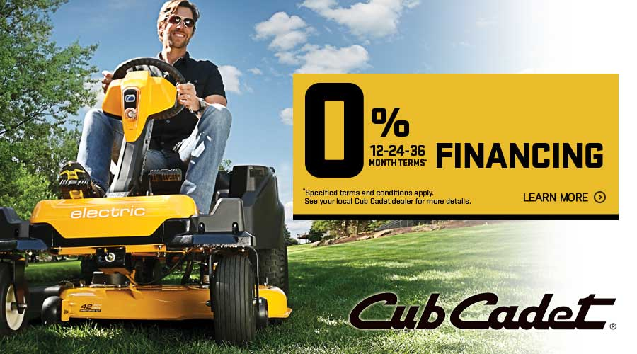 Cub Cadet Lawn Equipment Sale